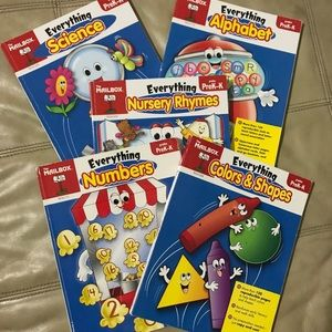 5 books for pre kindergarten